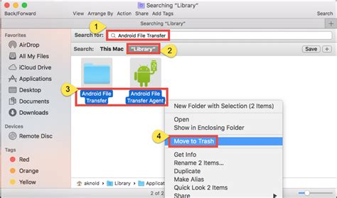 android file transfer for mac os can t uninstall android file transfer check this tutorial