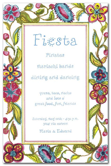 spanish birthday invitations ideas bagvania free