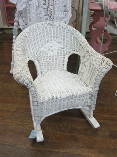 White Wicker Rocking Chair by 1000 Images About Wicker Rocking Chairs On