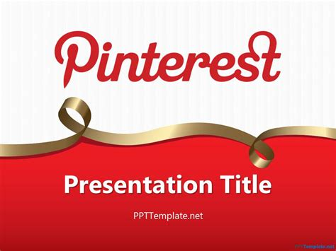 free pinterest ppt templates ppt template
