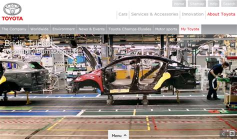 toyota line an up look at a toyota assembly line gemba academy