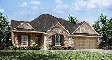 austin houses enclave at estancia vista ii collection new home