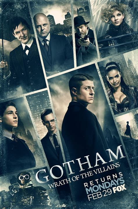when does house of cards return gotham new artwork teases quot wrath of the villains quot hollywood reporter