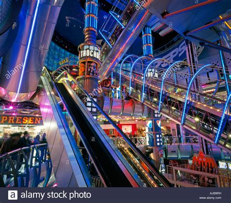 Banister Mall Futuristic Space Age Interiors Of London Trocadero With