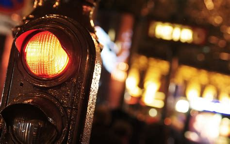 lights when closed traffic lights city up photo wallpaper