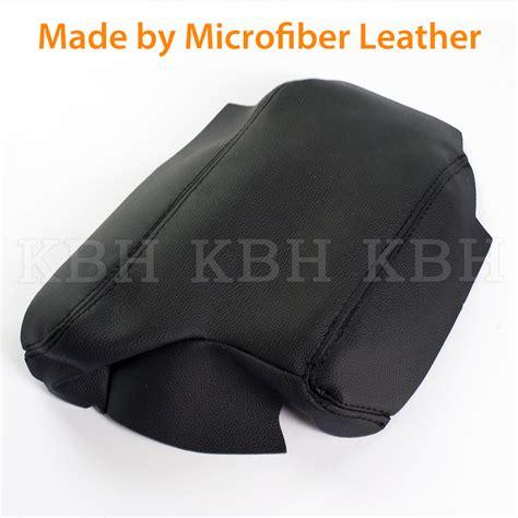 Armrest Bmw E46 Type leather armrest center console lid cover for bmw e46 3 series 99 05 black lhd ebay