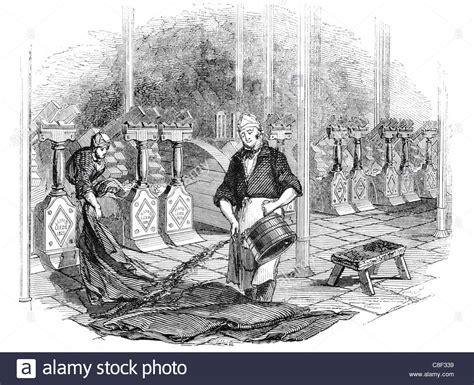 Ancient Detox Scholarly by Fulling Stocks Tucking Walking Waulking Woolen Clothmaking