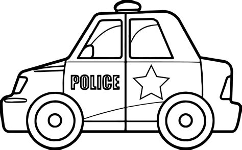 coloring pages of police cars police car coloring pages sketch coloring page