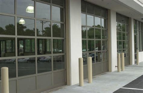 see through garage doors commercial overhead doors and openers roll up sectional