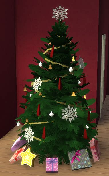 sims  store christmas tree simsworkshop