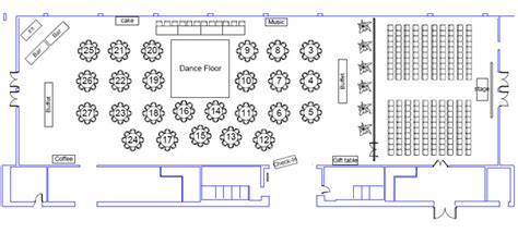 Backyard Wedding Floor Plan Floor Plans City Catering Event Venue