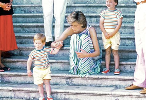 Princess Diana S Children by Harry Playing With William And Receiving Cuddle From Diana
