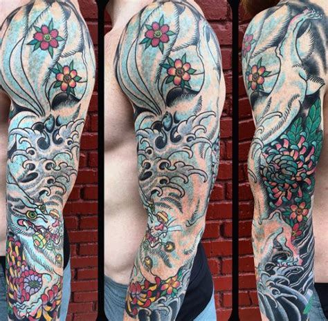 80 kitsune tattoo designs for men japanese fox ink ideas