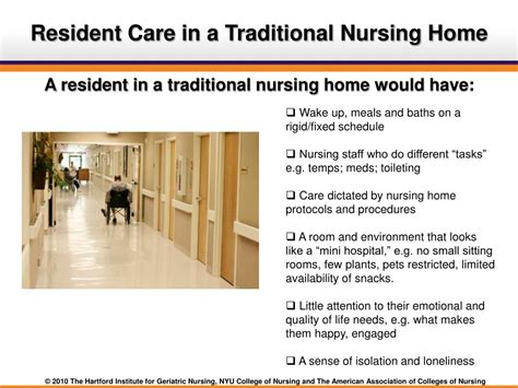 ppt resident directed care and culture change in nursing