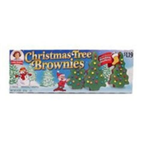 little debbie christmas tree brownies calories nutrition