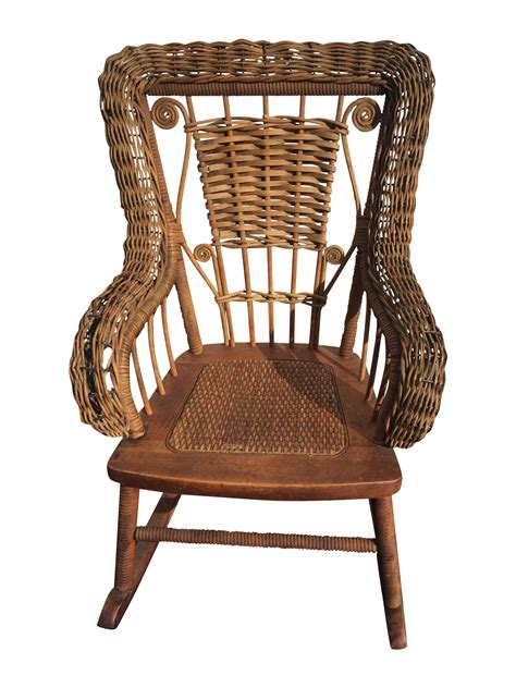 cool wicker rocking chair inspiration home gallery image