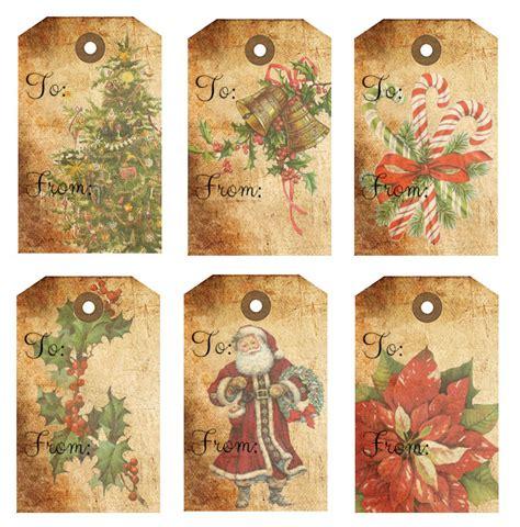 printable rustic christmas gift tags rustic christmas gift tags free printables
