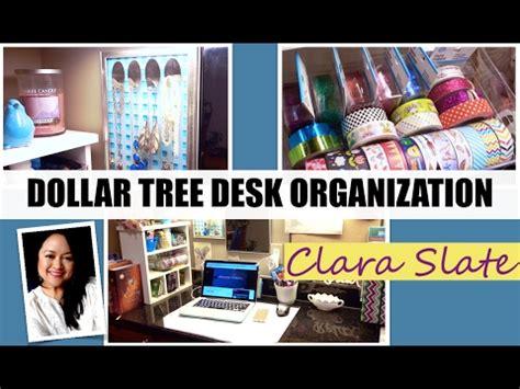 dollar tree desk l dollar tree desk organizing 2017 youtube