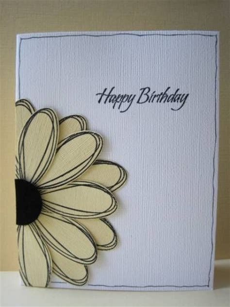 Easy Handmade Birthday Card Ideas - 25 best ideas about diy birthday cards on