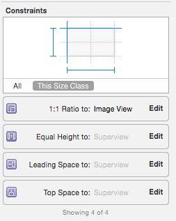 xcode auto layout aspect ratio ios autolayout keep ratio of image with horizontal
