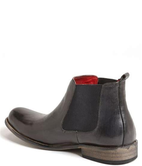 madden chelsea boot steve madden bedford chelsea boot in gray for grey