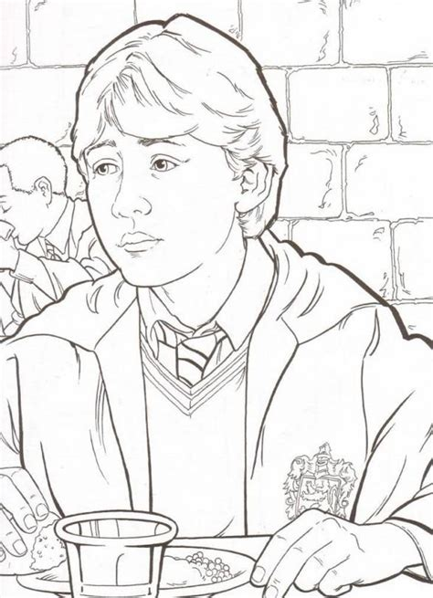 harry potter ron and hermione coloring pages harry potter coloring pages 360coloringpages