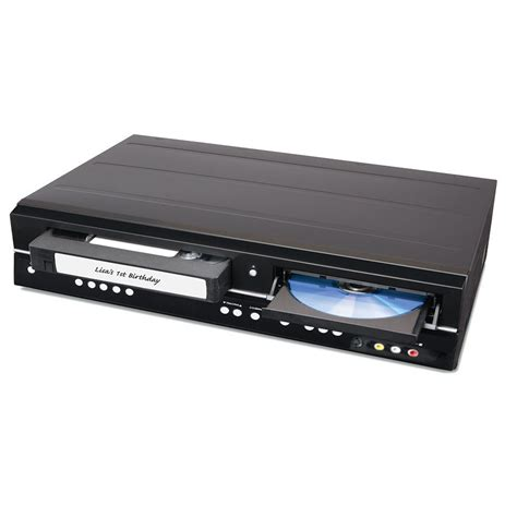 cassette to dvd converter the only remaining vhs to dvd converter hammacher schlemmer