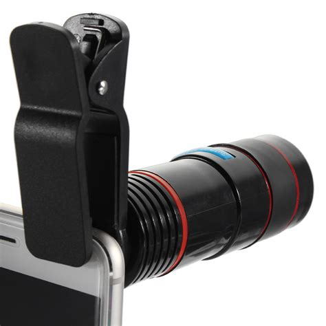 universal clip on smartphone telephoto lens goodyz ug