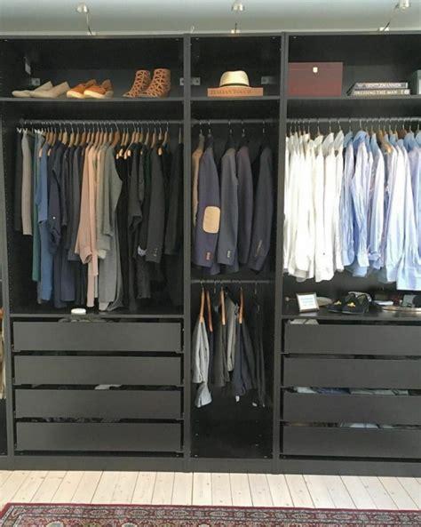 bn ikea pax wardrobe frame black brown furniture shelves