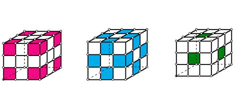 after solving one sided rubik s cube painted sides of a cube