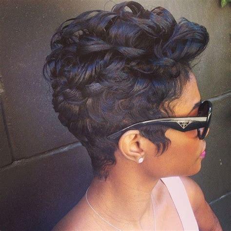 big black women short hair syles 50 best short curly hairstyles for black women 2018 cruckers