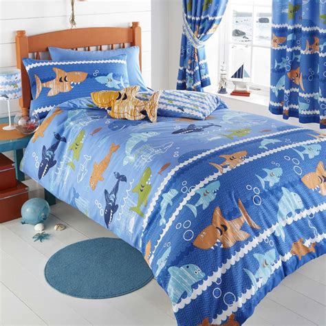 Bed Cover Set Dolphin Uk 180x200 sea world single duvet cover set new dolphin shark free p