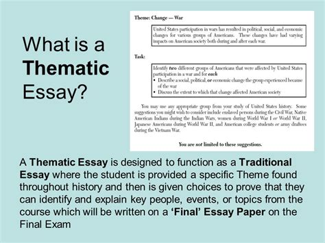 How To Write A Thematic Essay by Thematic Essay Sle Thematic Essay The Hunger Ayucar