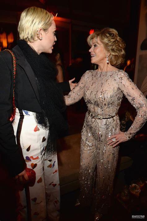 Vanity Fair Miley Cyrus Photos by Miley Cyrus At Vanity Fair Oscar In