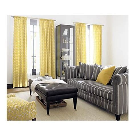 yellow curtains for living room 17 best images about grey yellow decor on pinterest