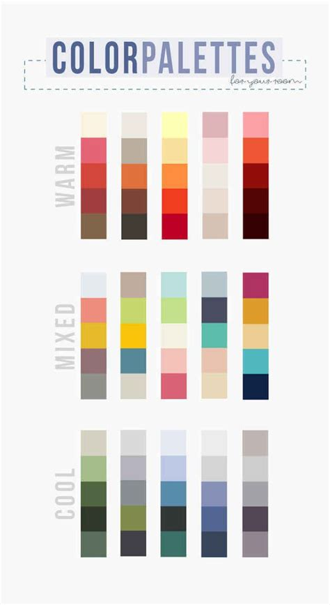 how to choose a color palette that won t drive you paint colors types of and warm