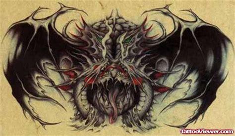 tattoo dragon gothic attractive tribal gothic dragon tattoo design tattoo