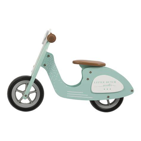speelgoed little dutch little dutch houten scooter kinderspeelgoed