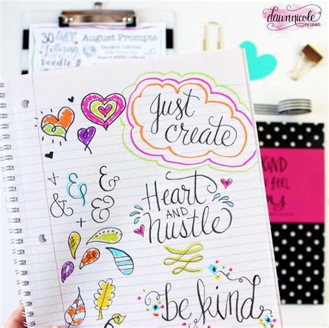 doodle challenge ideas 30 day lettering doodle challenge doodles journaling