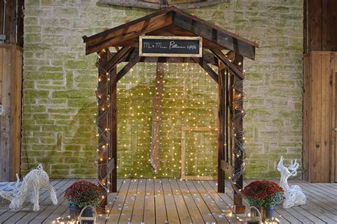 Wedding Arbor Rustic by Rustic Wedding