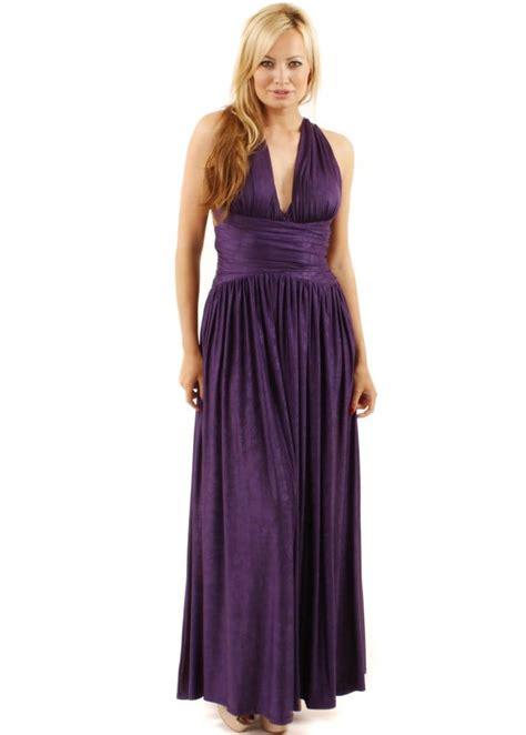 unique  unique purple ashley maxi dress