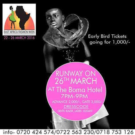Fashion Week Fashion East by East Africa Fashion Week 2016 Shikhazuri Jewellery