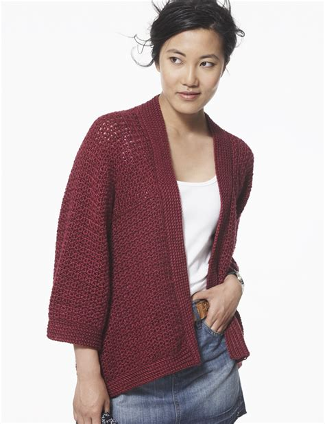 knitting pattern kimono cardigan long crochet cardigans cottageartcreations com