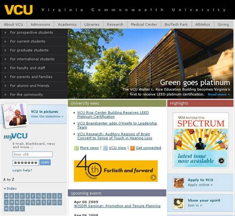 Vcu Mba Courses by Virginia Commonwealth Distance Learning