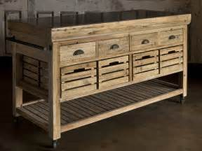 park hill collection rolling kitchen island na1088