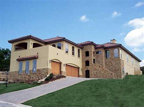 center courtyard house plans tuscan luxury european home plan with central courtyard 36847jg 1st