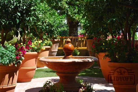 fountains  bubbling pots