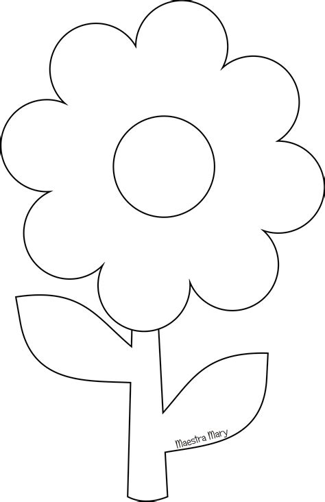 immagini fiore da colorare immagini fiori di primavera da colorare