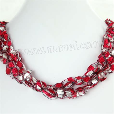 Handmade Ribbon - handmade ribbon necklace me42100