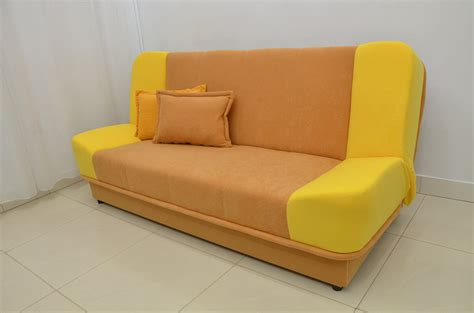 sofa fabric sles sale sofa bed lara suedline fabric chili yellow comfy